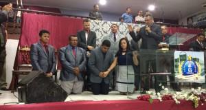 ARAGUATINS: Supervisor da 4ª área da CIADSETA dá posse a diretoria geral de Adolescentes do Bico do Papagaio