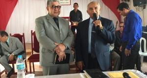 Reunião de pastores da 4ª área da CIADSETA em Vila Tocantins, contou com a presença do Pr. Paulo Martins