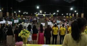 ARAGUATINS: União de Mocidade comemorou Jubileu de Pérolas e homenageou os ex-presidentes