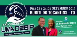 BURITI: XXI Congresso da UMADEBIP acontecerá com a participação da dupla Canção & Louvor