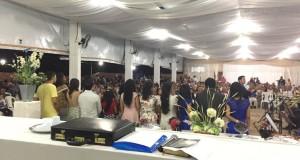 ARAGUATINS: Culto da virada na Assembleia de Deus CIADSETA reuniu centenas de fiéis