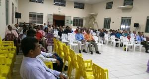ARAGUATINS: Obreiros e Esposas participam de Reunião de Ministerial