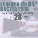 MACAÚBA: Reunião de área acontecerá na manhã do sábado 28