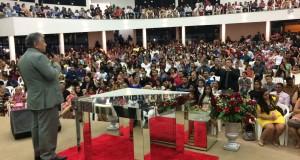 ARAGUATINS: Pastor José Ribamar parabeniza à CIADSETA pelo Jubileu de Vinho