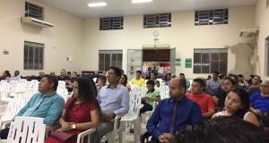 ARAGUATINS: Departamento de Família da Assembleia de Deus promove seminário para casais