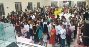ARAGUATINS: Em noite festiva a Direção de Adolescentes do Bico do Papagaio realizou confraternização