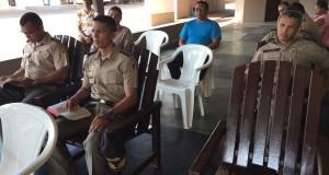 ARAGUATINS: Pastor Roberval Santana da AD CIADSETA foi o ministrante na Capelania Evangélica do 9º BPM