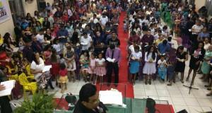 ARAGUATINS: Congresso da Escola Bíblica Dominical foi realizado na AD CIADSETA