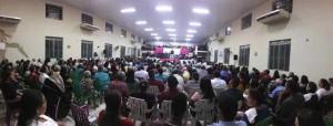 ARAGUATINS: Assembleia de Deus realizou festa de Santa Ceia