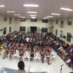 ARAGUATINS: Congresso da União de Mocidade reuniu centenas de fiéis no Templo Sede da CIADSETA