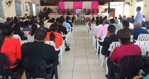 ARAGUATINS: Obreiros e esposas participam da última confraternização de líderes do ano
