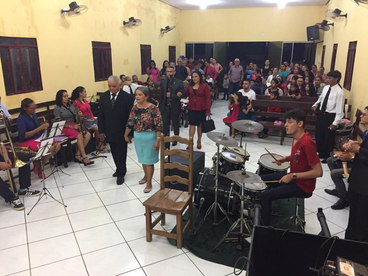Culto de posse do pastor Romilson na Monte Moriá (10)
