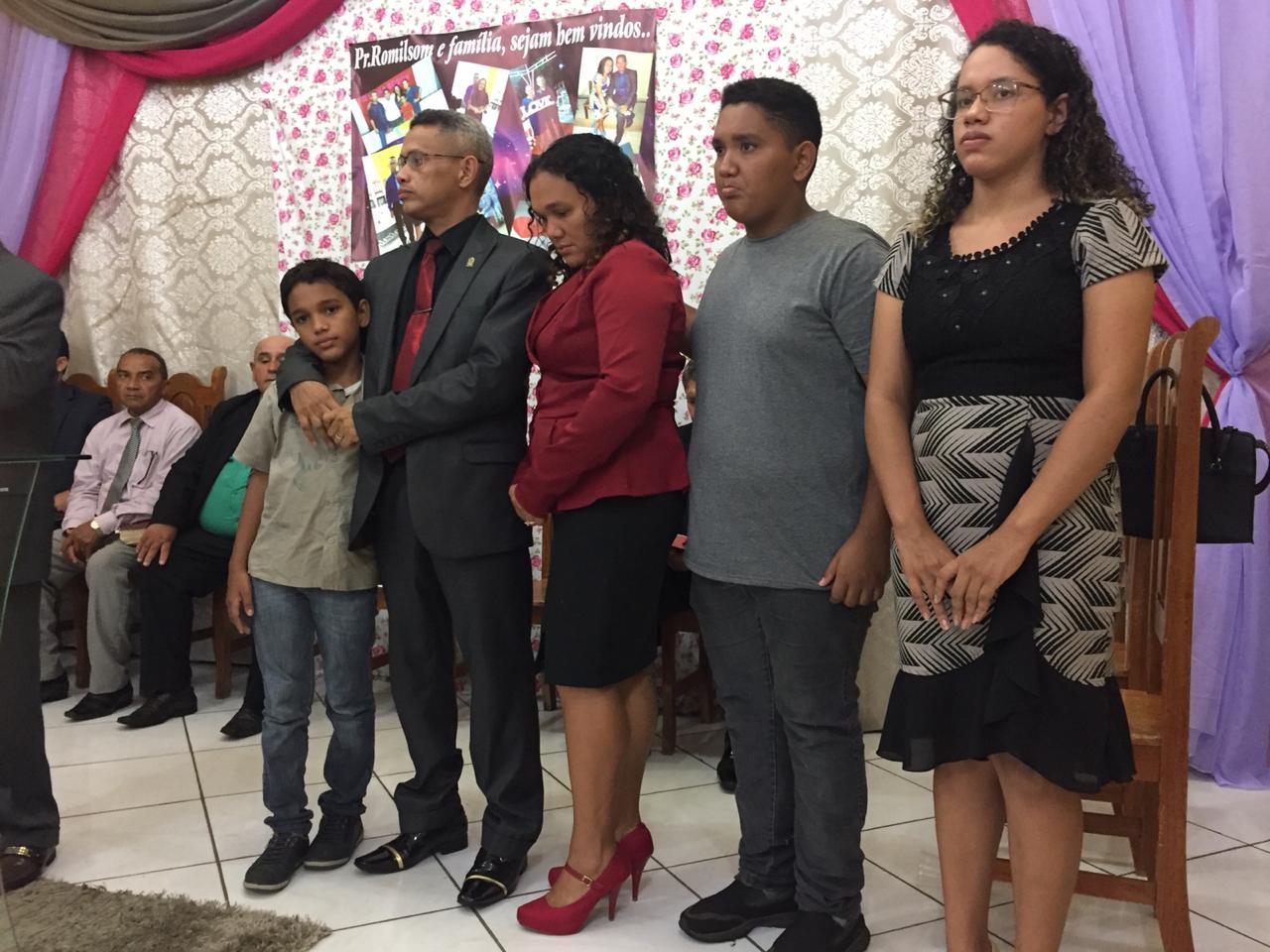 Culto de posse do pastor Romilson na Monte Moriá (5)