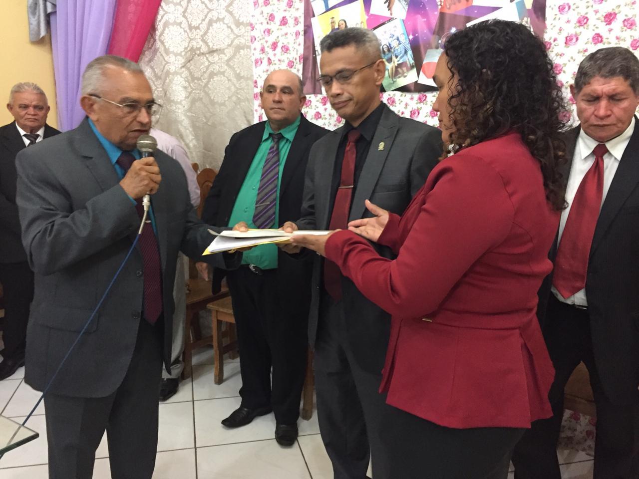 Culto de posse do pastor Romilson na Monte Moriá (6)