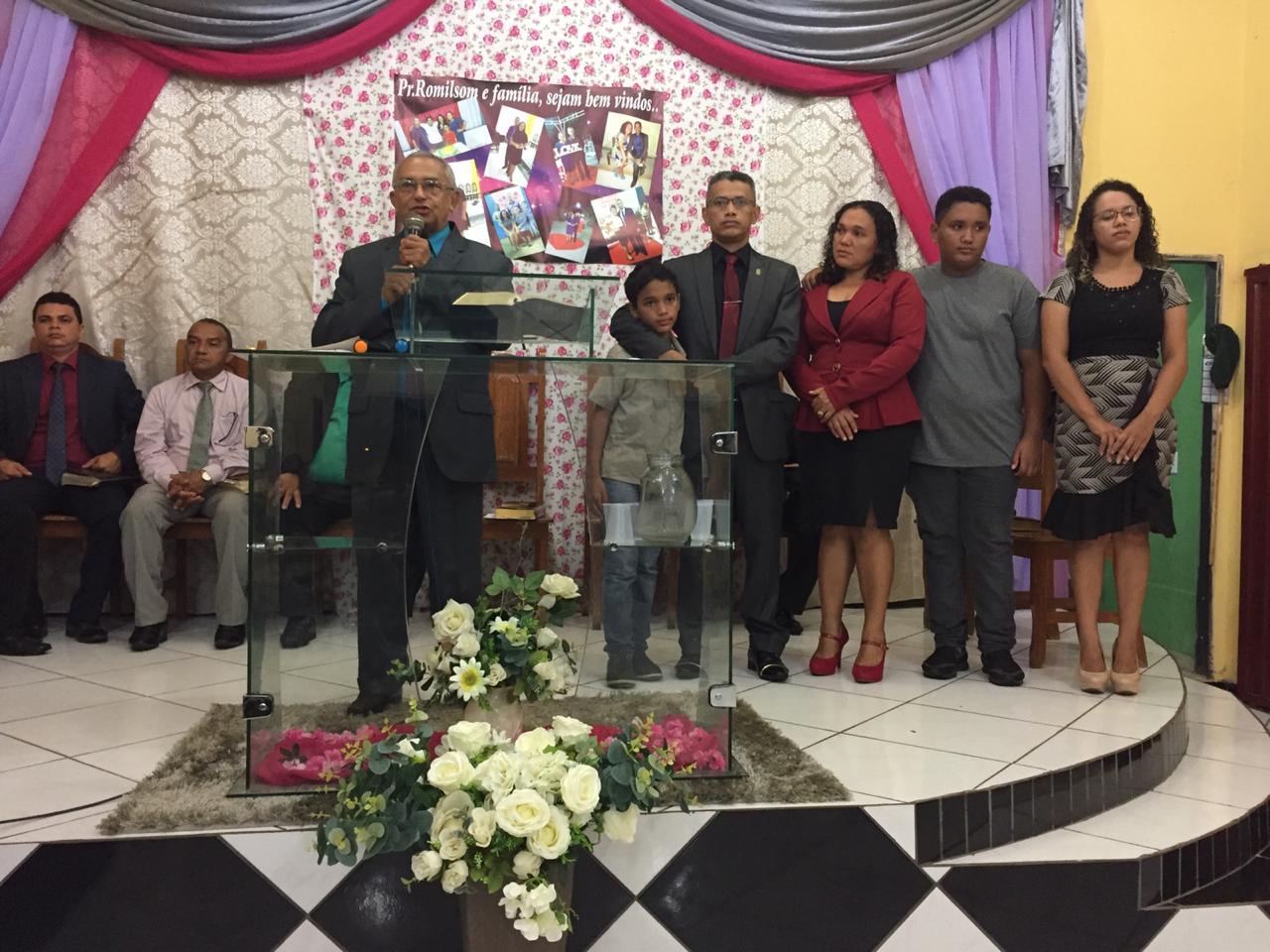 Culto de posse do pastor Romilson na Monte Moriá (9)