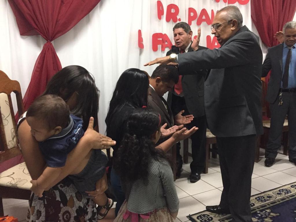 Posse do pastor Paulo Rocha na Monte Horebe (3)
