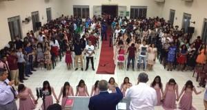 ARAGUATINS: União de Mocidade comemora aniversário do Grupo de Coreografia