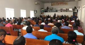Reunião de pastores da 4ª área administrativa da Ciadseta na região do Bico do Papagaio, aconteceu neste sábado (16), em Augustinópolis