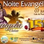 Cantora Tângela Vieira se apresentará no Cais do Porto em Araguatins durante os 151º aniversário do município
