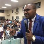 ARAGUATINS: Pastor Erismar Miranda de Parauapebas (PA), foi o ministrante do culto de ensino na AD Ciadseta