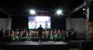 ARAGUATINS: Orquestra Som do Evangelho da CIADSETA comemorou Jubileu de Coral na companhia de amigos e Orquestras da Região.