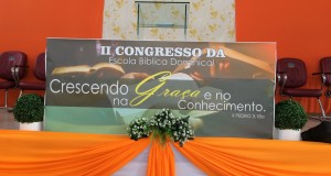 ARAGUATINS: Superintendência realiza na Assembleia de Deus o II Congresso da Escola Bíblica Dominical