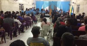 ARAGUATINS: Congregação Monte das Oliveiras realizou confraternização de jovens e adolescentes