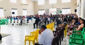 ARAGUATINS: Encontro dos pastores e esposas das Assembleias de Deus da Ciadseta aconteceu neste sábado (16)