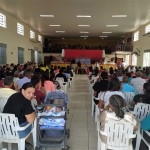 ARAGUATINS: Superintendência da Escola Bíblica Dominical encerra trimestre com Escola Geral no Templo Sede