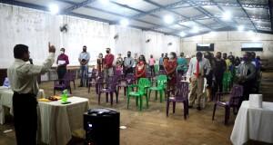 ARAGUATINS:  Assembleia de Deus ciadseta  realiza  a 1ª escola de Batismo